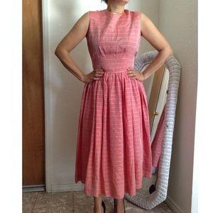 Vintage Midi/Tea Length A-Line Dress
